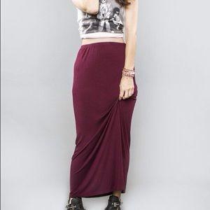 Brandy Melville 'Lily' Maxi Skirt